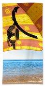 Snorkeling Glasses Beach Sheet