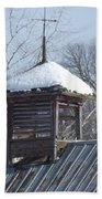 Snow Cupola Beach Towel