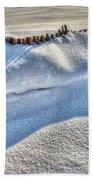 Snow Mound Beach Towel