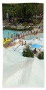 Snow Time Beach Towel