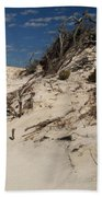 Snow White Dunes Beach Towel