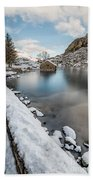 Snowcapped Beach Towel