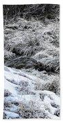 Snowy Mountain Stream V2 Beach Towel
