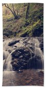 So Easy To Fall Beach Towel by Laurie Search
