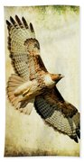 Soaring Hawk Beach Towel