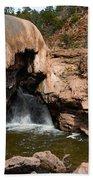 Soda Dam In New Mexico Beach Towel