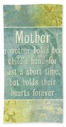 Soft Spa Mother's Day 1 Beach Towel