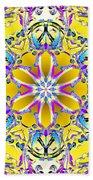 Solar Sunstar Beach Towel by Derek Gedney