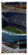 Soldier Field Chicago Sports 06 Beach Towel