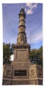 Soldiers And Sailors Monument - Boston Beach Towel