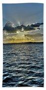 Solent Sun Rays Beach Towel