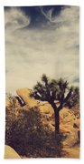 Solitary Man Beach Towel by Laurie Search