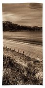 Solitude Sepia Beach Towel