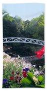 Somesville Bridge And Home Beach Towel