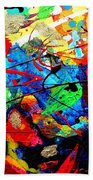 Somewhere Over The Rainbow Beach Towel by John  Nolan