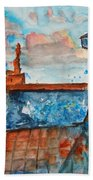 Somplace In Greece Beach Towel