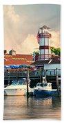 Sono Seaport Seafood Beach Towel