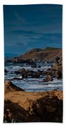 Sonoma Coast Beach Towel by Bill Gallagher