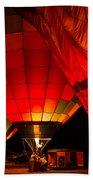 Sonoma County Hot Air Balloon Classic Beach Towel