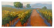 Sonoma Vineyard Beach Towel