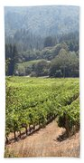 Sonoma Vineyards In The Sonoma California Wine Country 5d24515 Square Beach Towel