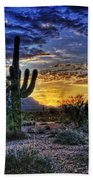Sonoran Sunrise  Beach Towel