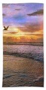 Soothing Sunrise Beach Towel by Betsy Knapp