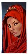 Sophia Loren 2  Beach Sheet