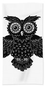 Sophisticated Owls 1 Of 4 Beach Towel