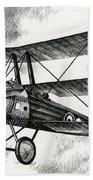 Sopwith Triplane 1917 Beach Towel