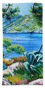 Sormious Cove Beach Towel