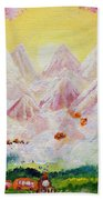 Sorrows All Disappear Beach Towel