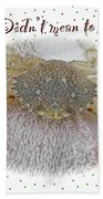 Sorry I Was Crabby Greeting Card - Calico Crab Beach Towel
