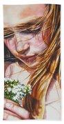 Soul Blossoms Beach Towel