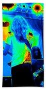 Soundcheck #11 Enhanced Cosmicolors 1 Crop 2 Beach Towel