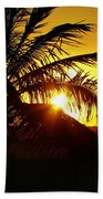 Sour Sunset Beach Towel