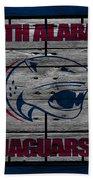 South Alabama Jaguars Beach Towel