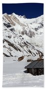 South Annapurna Base Camp - Nepal 05 Beach Towel
