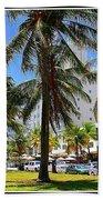 South Beach Miami Beach Beach Towel