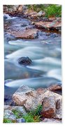 South Boulder Creek Little Waterfalls Rollinsville Beach Towel