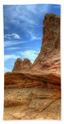 South Coyotte Buttes 8 Beach Towel by Bob Christopher