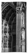 South Entrance Detail Cologne Cathedral Beach Towel