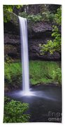 South Falls - Silver Falls State Park - Oregon Beach Towel