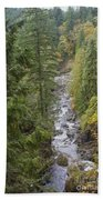 south fork Snoqualmie river Beach Towel