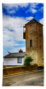 South Lookout Tower Aldeburgh Beach Beach Towel