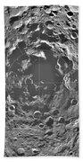 South Pole Of Moon  Beach Towel