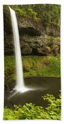 South Silver Falls 3 Beach Towel