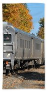 Southbound At Sloatsburg Beach Towel