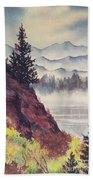 Southeast Alaska Beach Towel