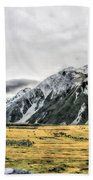 Southern Alps Nz Beach Towel